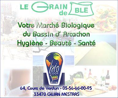 Le grain de bl vous accueille du mardi au samedi de 9h30 12h30 puis de 16h00 19h30 - Bassin baignade biologique bordeaux ...